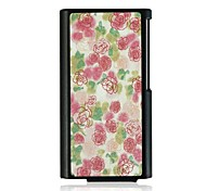 Rose Leather Vein Pattern Hard Case for iPod Nano7