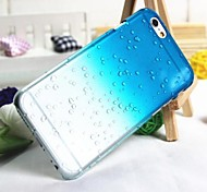 3D Rain Drops Pattern PC Hard Case for iPhone6 (Assorted Colors)