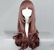 Lolita Wigs Sweet Lolita Lolita Long Brown Lolita Wig 60 CM Cosplay Wigs Solid Wig For Women