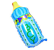 Blue Feeding-bottle Aluminium Membrane Baby Shower Birthday Party Balloon(1PCS)