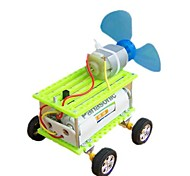 DIY Super Mini Wind Force Raider Buggy Handiwork Novelty Toys