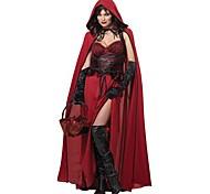Halloween europa juego cosplay traje de la mujer (incluye el cabo encapuchado, glolves; poliéster)