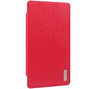 Fashion PU Folding Folio Protective Case Cover for Vido/YuanDao N70 3G Tablet with Screen Protector