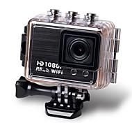 Sports HD 1080p cámara 30m wifi deportes dv cámara amplia lente de 170 grados