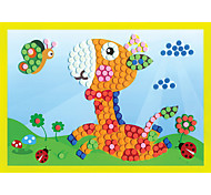 EVA Dot Mosaic 3D Stickers Children Hand DIY Fawn Play Toy