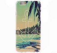 Anchor Pattern Hard Case for iPhone 6 Plus