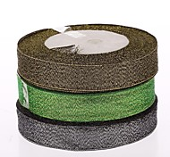 2 Cm Colour Green Ribbon  DIY Materials Gift Box Parts