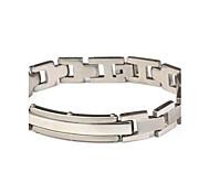 Men's Fashion Personality Simple Titanium Steel Bracelets