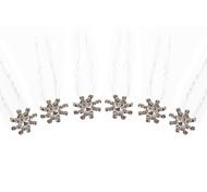 strass splendida Pins da sposa / fiori 6 pezzi