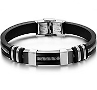 Z&X®  Men's Fashion Personality Joker Titanium steel Bracelets