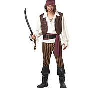 Men's  Halloween Pirate Cosplay  Party Costume