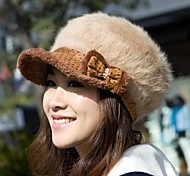 Outdoor Women's Fashion Warm Rabbit Cap