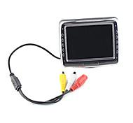 4,3 pulgadas TFT de Seguridad Aparcamiento retrovisor LCD Monitor P704