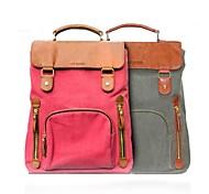 """VFENG 14"""" Fashion Double Color Canvas Laptop Case"""