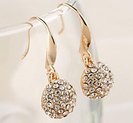 Love Is Your Fashion Crystal Hook Earring