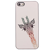 bello caso duro di alluminio Giraffa design per iPhone 4/4S