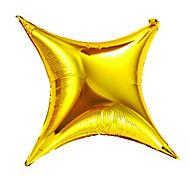giorno di nozze festa di compleanno palloncino alluminio dorato stelle membrana baby shower di San Valentino