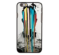 Man In Colors Style Plastic Hard Back Cover for iPhone 6