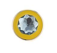 ZP 64gb круглый пятиугольника драгоценности рисунком побрякушки алмазов металлический стиль USB Flash Drive