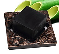 High Quality Pure Natural Bamboo Charcoal Black Cleansing Soaps