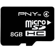 PNY 8GB Class 4 MicroSDHC TF Memory Card