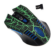 Superbpag® 2.4Ghz Gaming Mouse 6 Programmable Buttons Up To 1600 DPI Wireless Mouse Mice