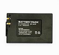 1600mAh видеомагнитофон аккумулятор BP-80w для действующим Samsung SC-D385 SC-DX103 VP-dx100i
