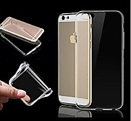 tpu ultra transparent soft case for iphone 6/6S plus