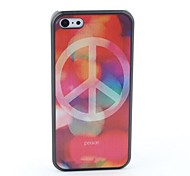 Peace Style Protective Back Case for iPhone 5C