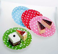 9 pulgadas de platos de papel para fiesta con puntos blancos (juego de 12, más colores)