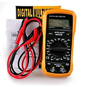 HYELEC MS8233B Ammeter Multitester LCR Meter Multifunction Mini Digital Meter Tester /Back Light Non Contact Voltage Detection