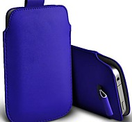 Slim Premium PU Soft Leather Pull Tab Pouch Case Cover for iPhone 6 (Assorted Colors)