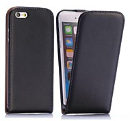 Pour Coque iPhone 6 Coques iPhone 6 Plus Clapet Coque Coque Intégrale Coque Couleur Pleine Dur Cuir PU pouriPhone 6s Plus/6 Plus iPhone