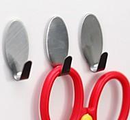 6 pcs multi-função de gancho de aço inoxidável