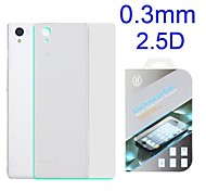 0.3mm 2.5D Gold Tempered Glass Back Film Guard Screen Protector for Sony Xperia Z1 Mini