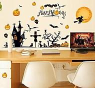 Halloween Design Plastic Stickers & Tapes(1Pcs)