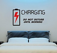 JiuBai™ Bedroom Quote Wall Sticker Wall Decal, Charging Quote