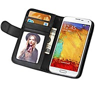 Soft Touch Wallet PU Leather Case for Samsung Galaxy NOTE 3 N9000