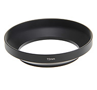 72MM Metal Wide-angle Universal Lens Hood