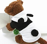 Lovely Black&White Panda Polar Fleece Clothes for Pet Dog(Assorted Sizes)