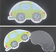 1PCS Template Clear Pegboard Colorful 13cm Car for 5mm Hama Beads Fuse Beads