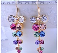 Love Is Your Fashion Long Crystal Earrings