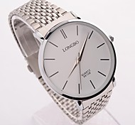 Man's Round Steel Quartz Watch 8810B