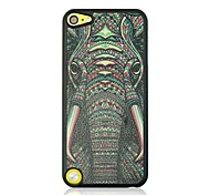 Elephant Leather Vein Pattern Hard Case for iPod touch 5