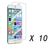 Clear Screen Protector Film for iPhone 6S/6 (10 pcs)
