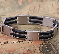 Men's Fashion Personality Generous Titanium Steel Bracelets