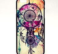 Colorful Campanula Pattern Hard Case Cover for iPhone 6