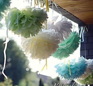 10 inch Paper Flower Party Decorations - Set of 4 (More Colors)