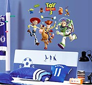 Doudouwo®  Cartoon the Lovely Toy Story PVC Wall Sticker