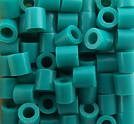 Approx 500PCS/Bag 5MM Lake Blue Fuse Beads Hama Beads DIY Jigsaw EVA Material Safty for Kids Craft